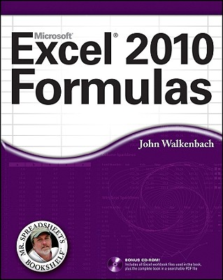 Excel 2010 Formulas By Walkenbach, John